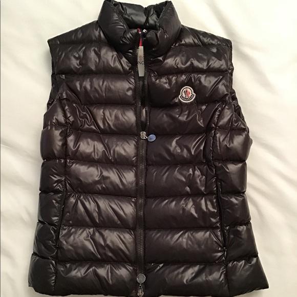 347e3c6f5 Moncler Brown Vest